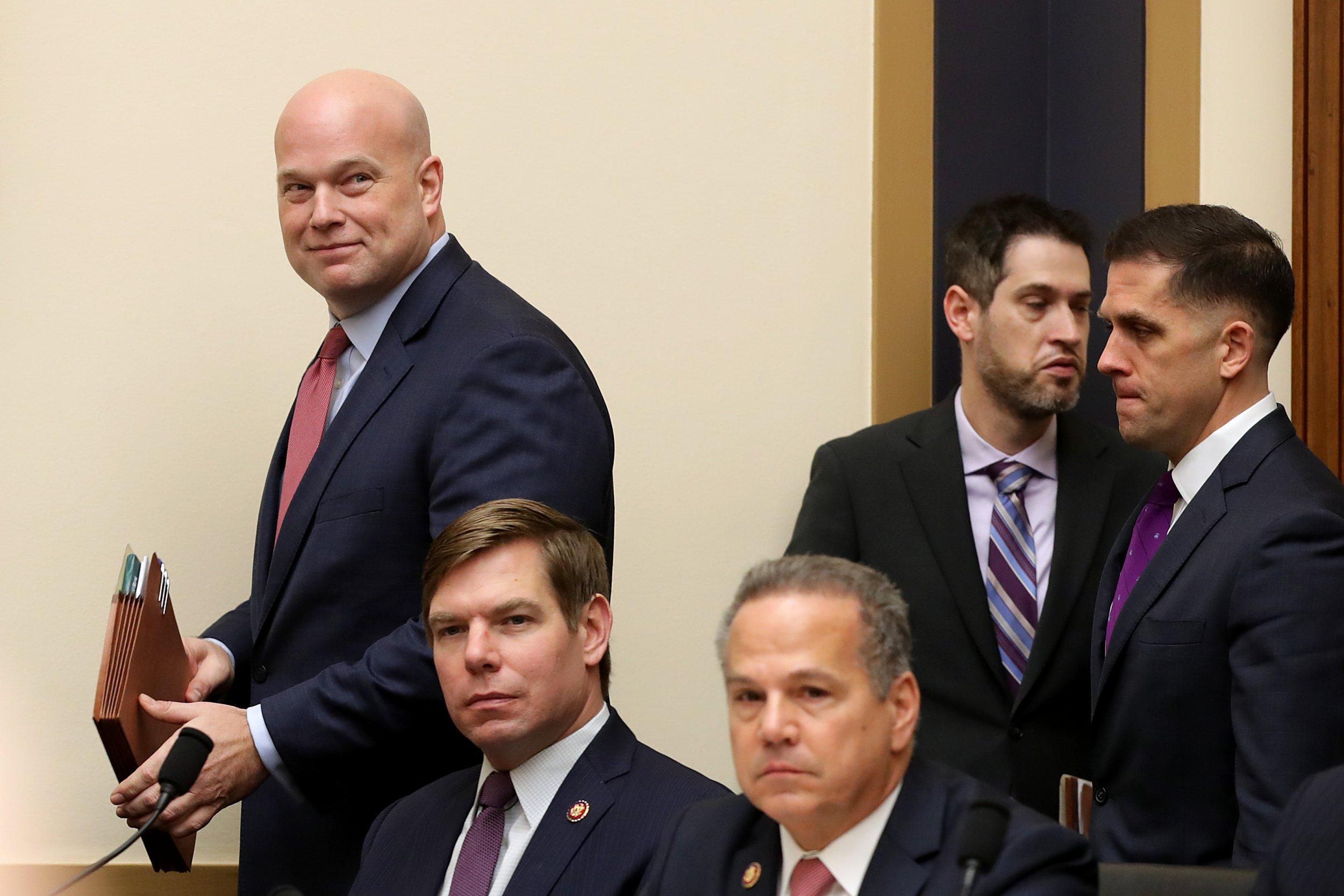 whitaker, democrat, jackson, lee, humor