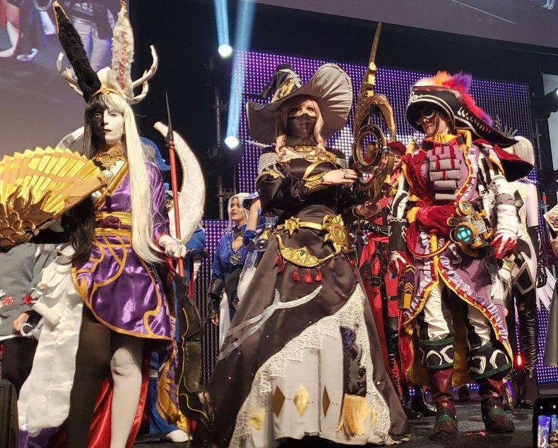 astrologian cosplay ffxiv fan fest