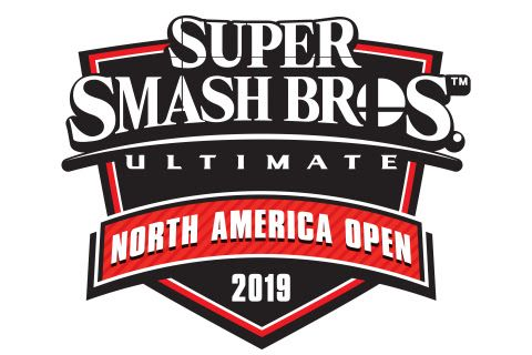 super smash bros ultimate north america open 2019 logo