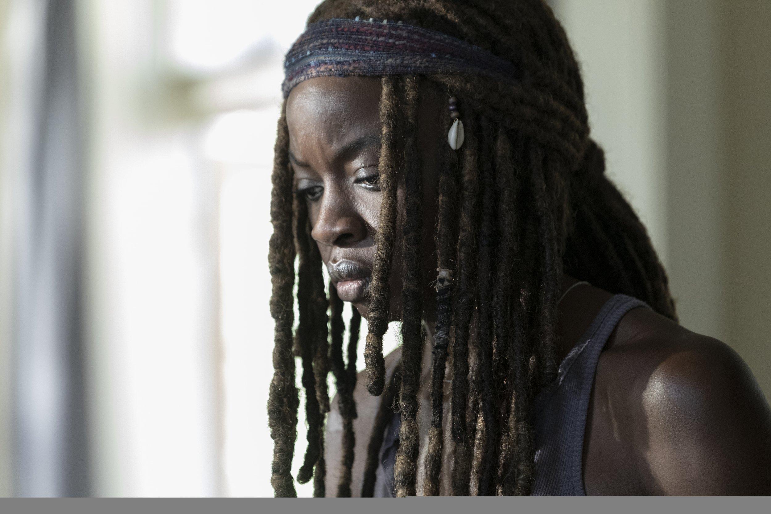 The Walking Dead Michonne leaving header