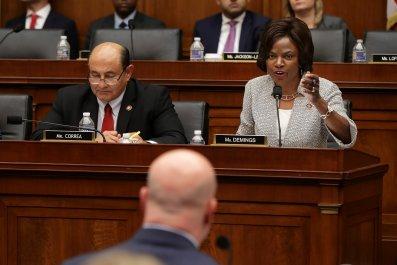 democrats, whitaker, evasive, testimony
