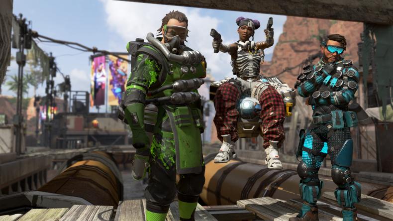 Apex Legends solos leak characters