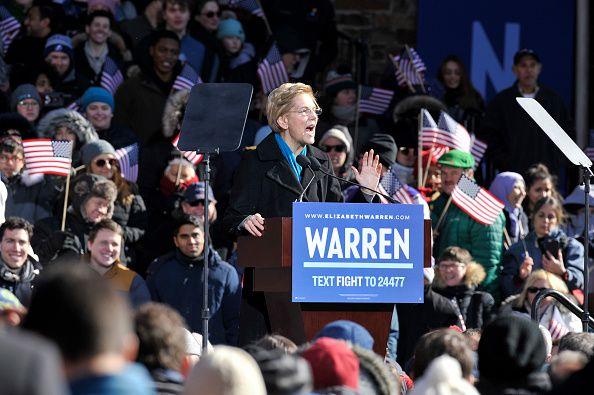 Elizabeth Warren For President