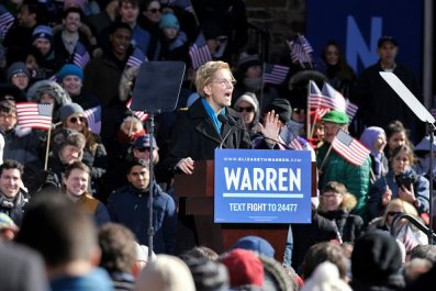 Elizabeth Warren For President