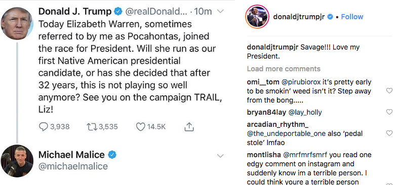 donald trump jr savage