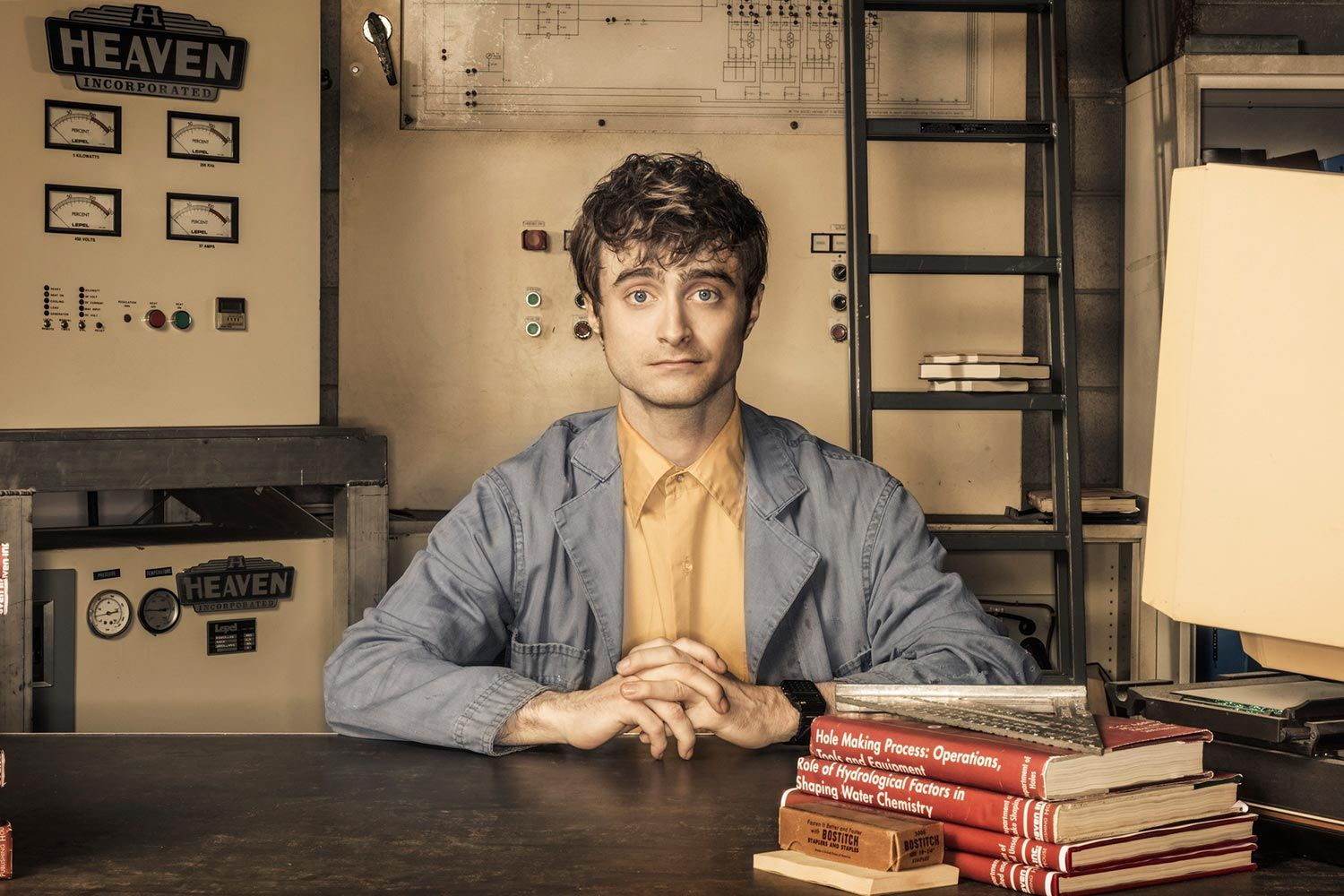 Daniel Radcliffe Talks 'Miracle Workers'
