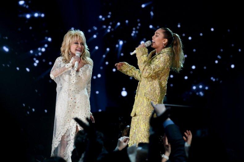 Dolly Parton & Miley Cyrus
