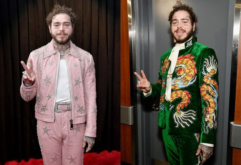 13 Post Malone Grammys suits