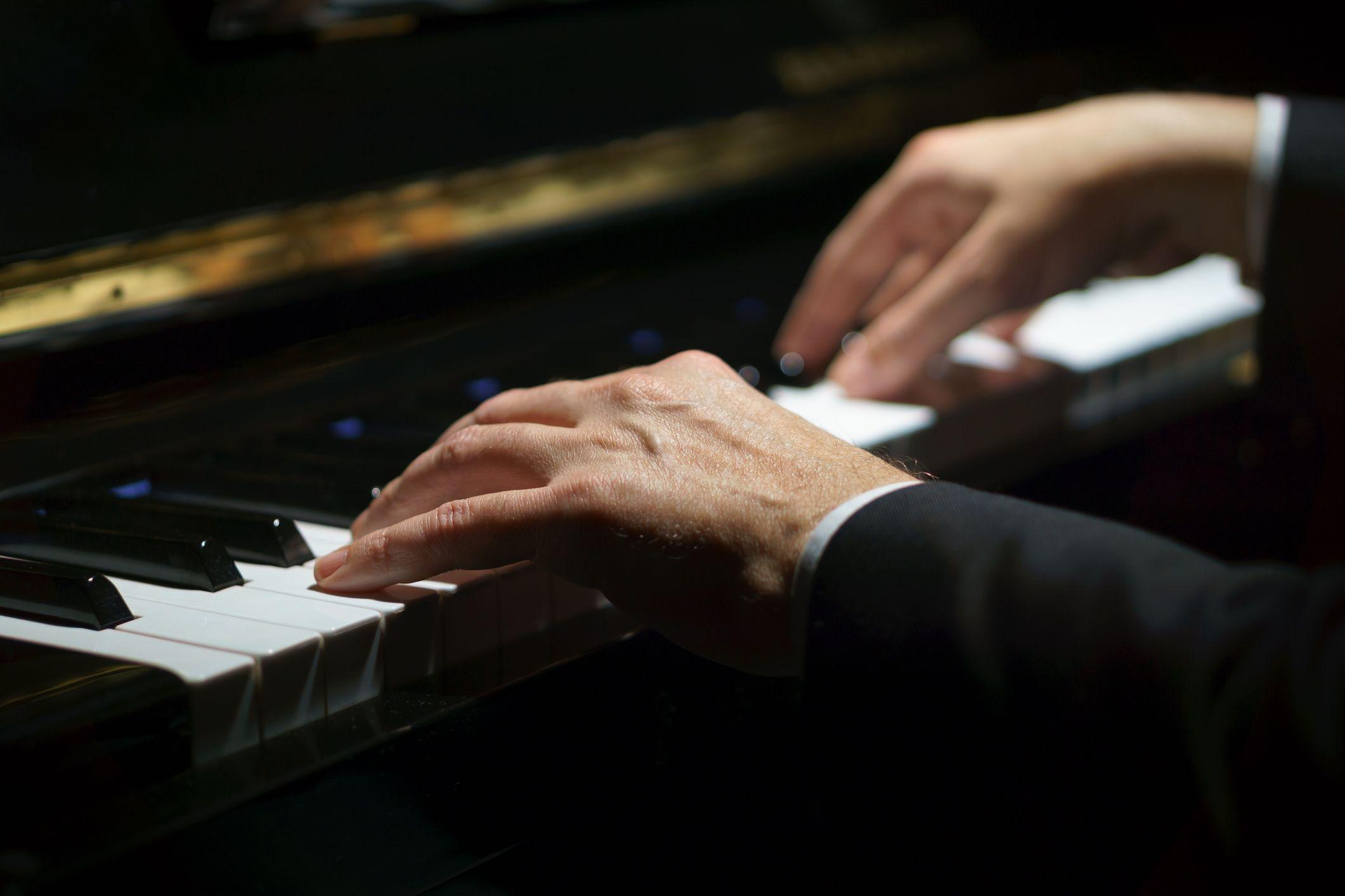 piano music instrument stock getty