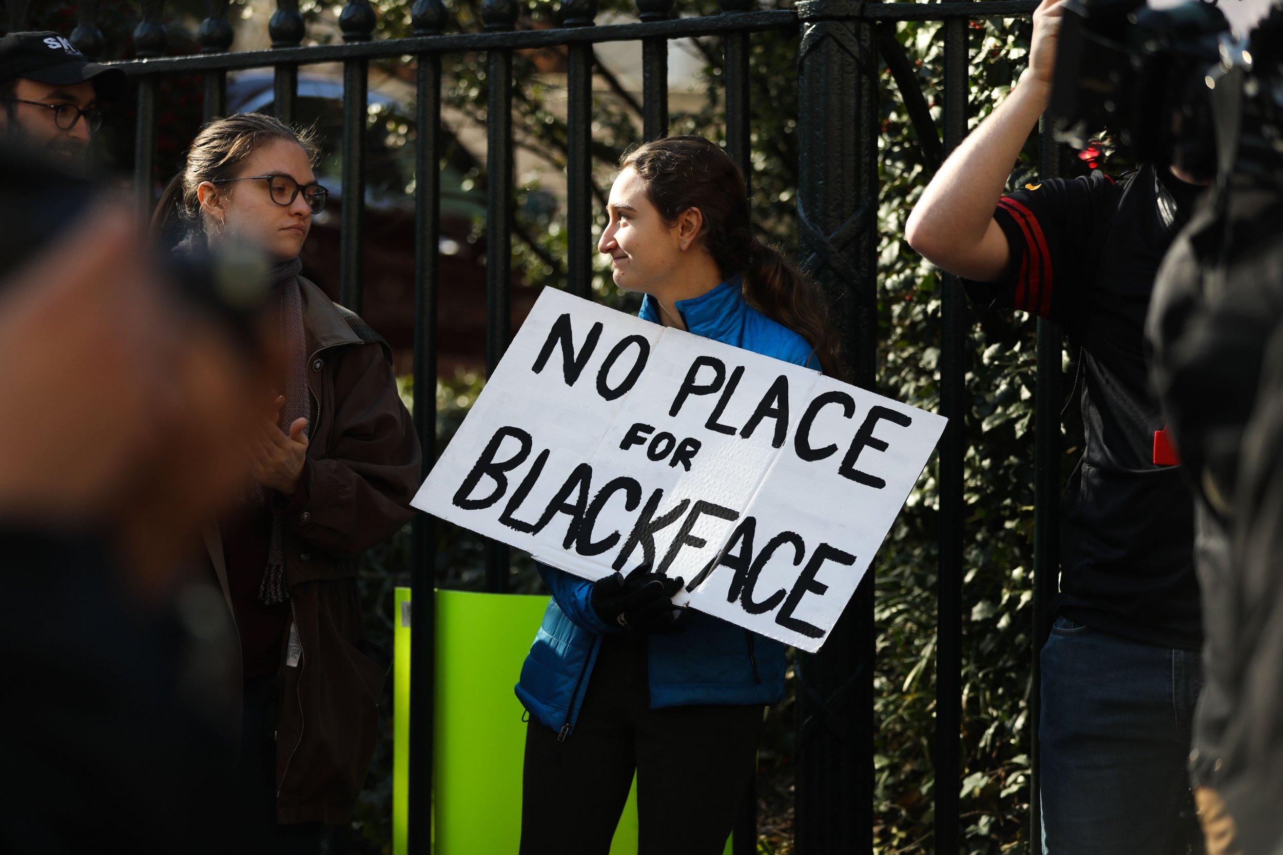 blackface protest