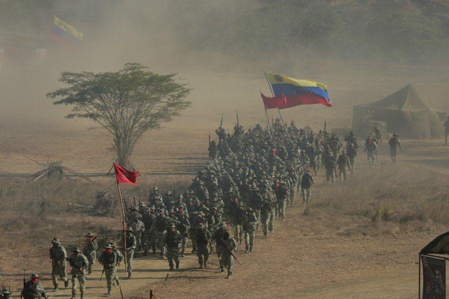 VenezuelaArmyMarch2