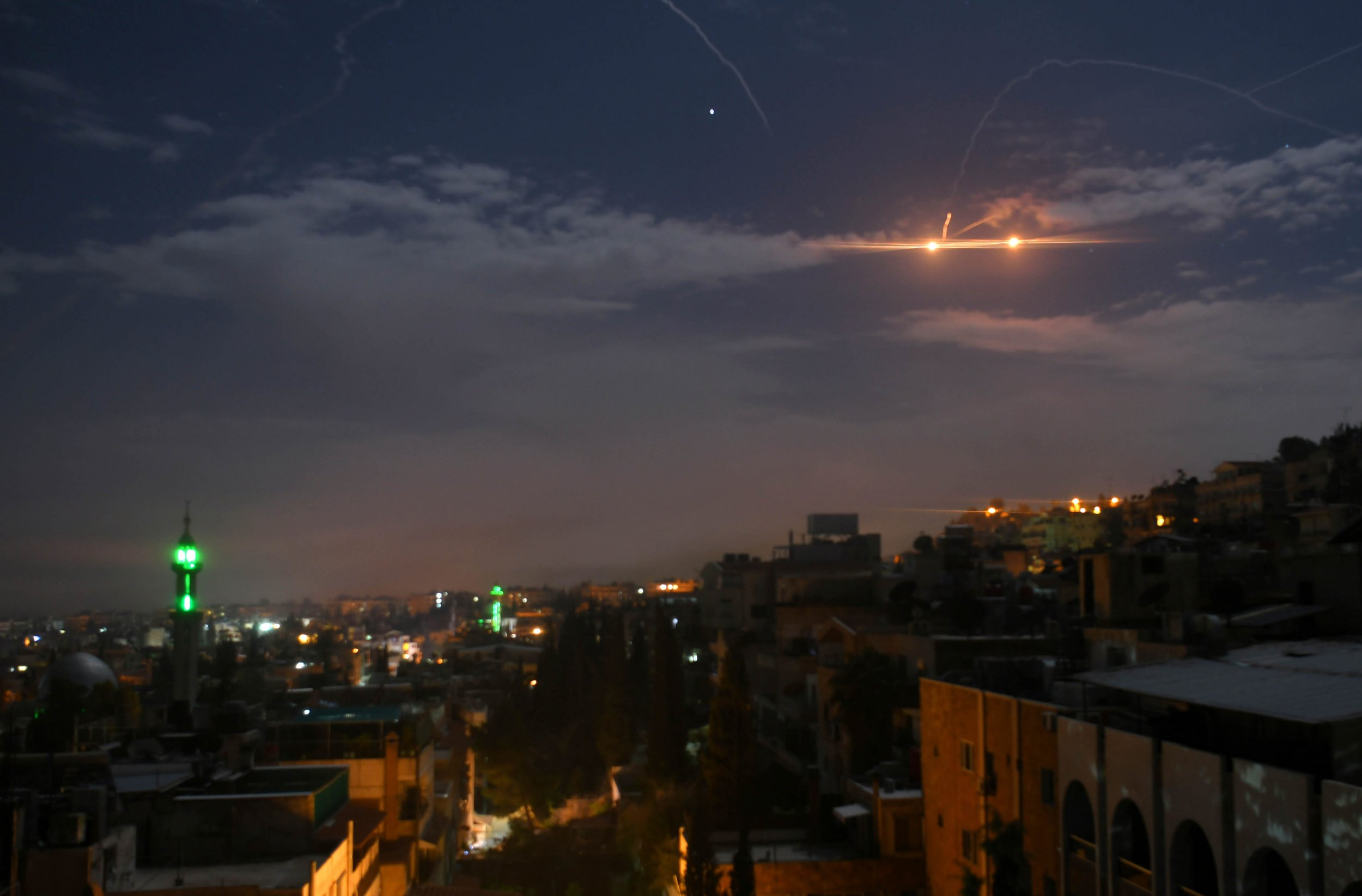 Syria Reports New Israeli Strikes Just As Russia Calls Attacks 'Unlawful' and 'Illegitimate'