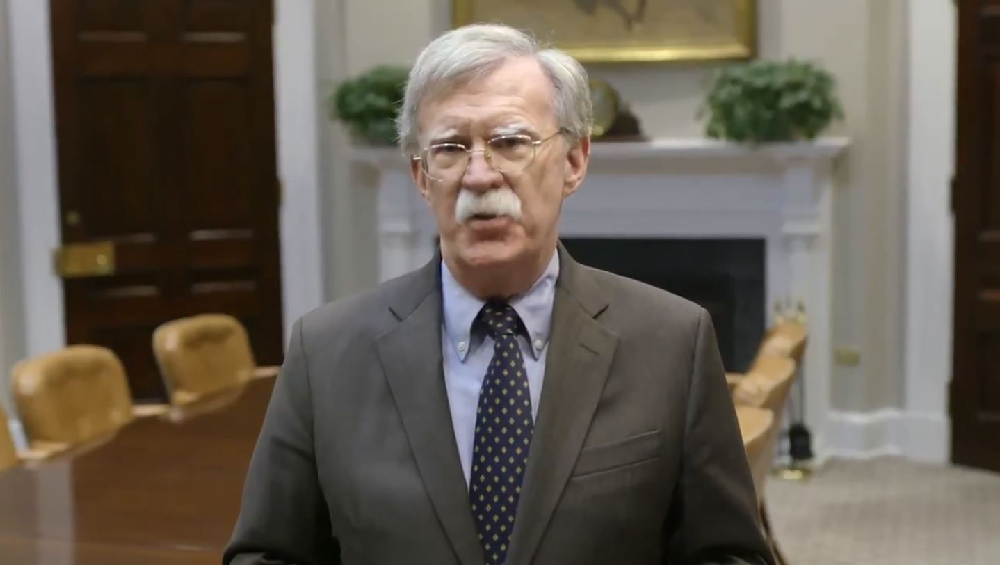 Image result for john bolton message to ayatollah