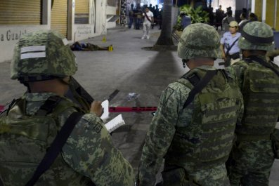 Mexico police missing dead abandoned