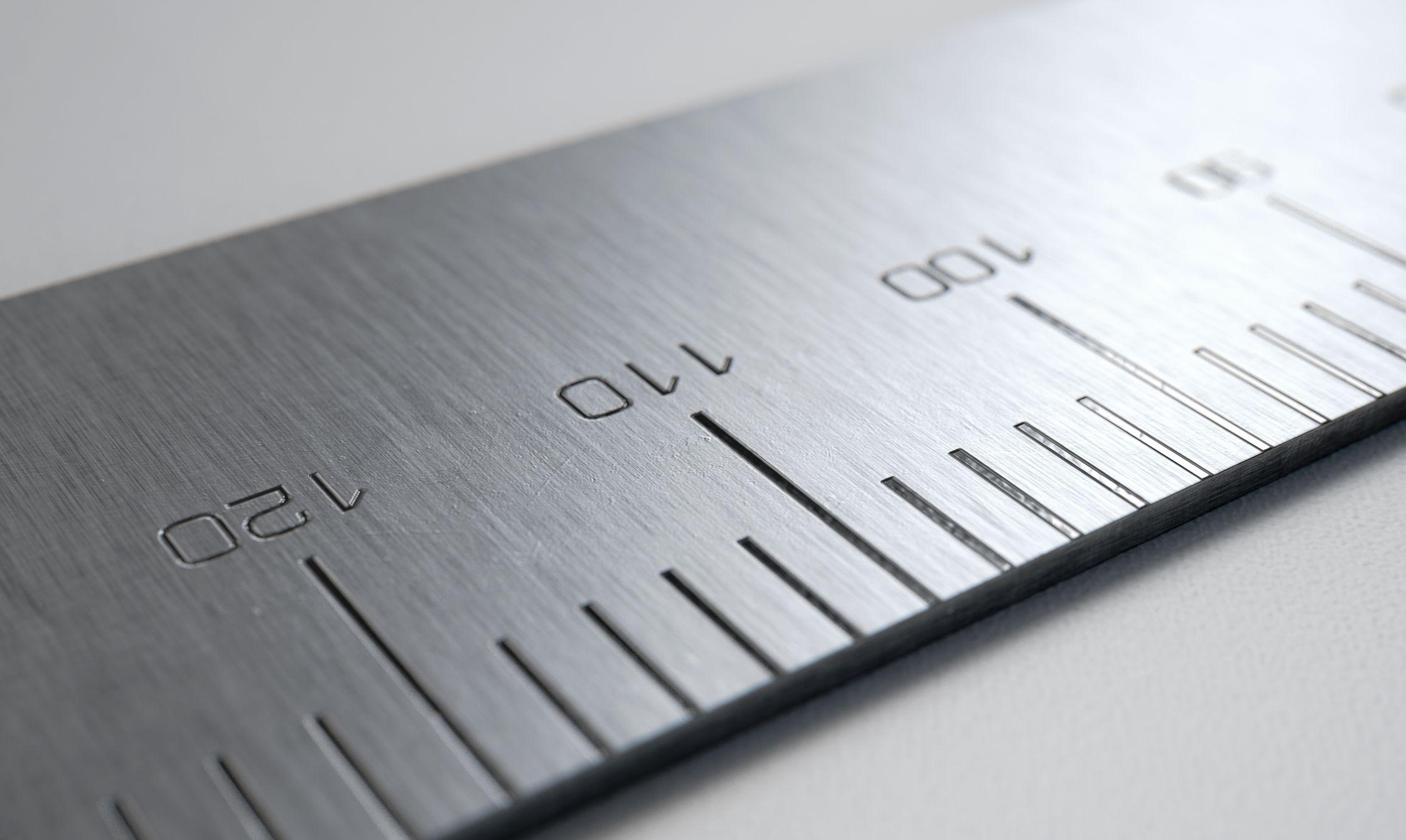 ruler, measuring device