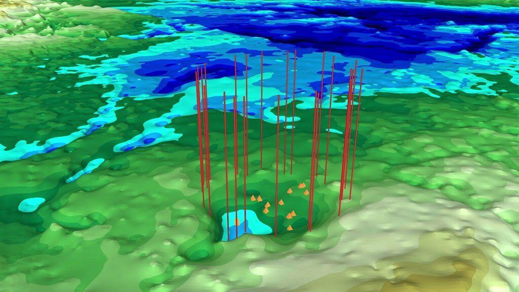 NASA, impact crater, Greenland