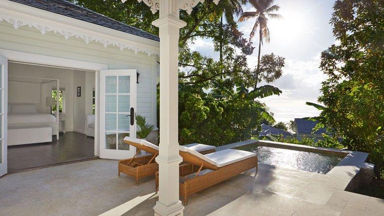 Romantic Hotels - Sugar Beach, A Viceroy Resort, St. Lucia
