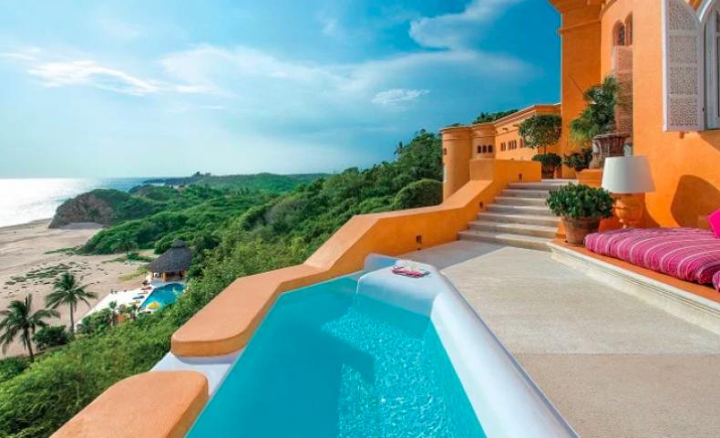 Romantic Hotels -  Cuixmala, Mexico
