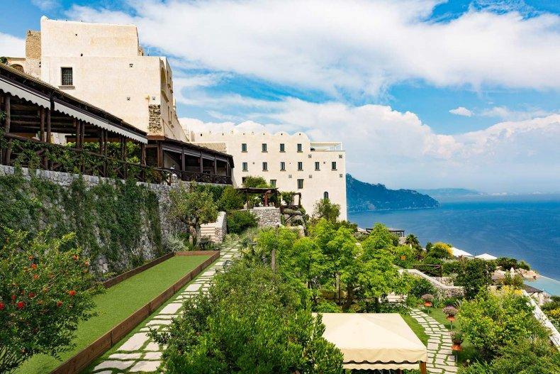 Romantic Hotels - Monastero Santa Rosa, Amalfi Coast