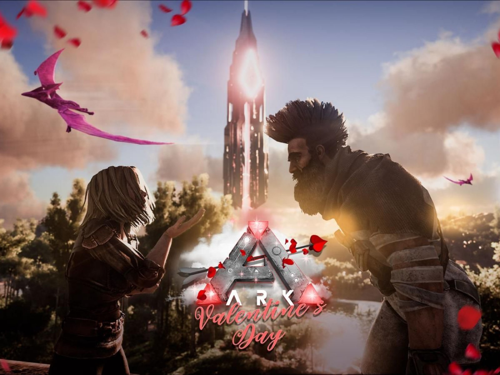 ARK' Update 1 87 Adds Valentine's Day Event on PS4 & Xbox