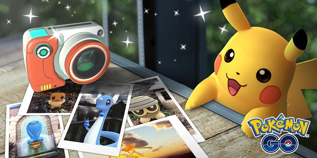 pokemon go photo mode ar plus snapshot update