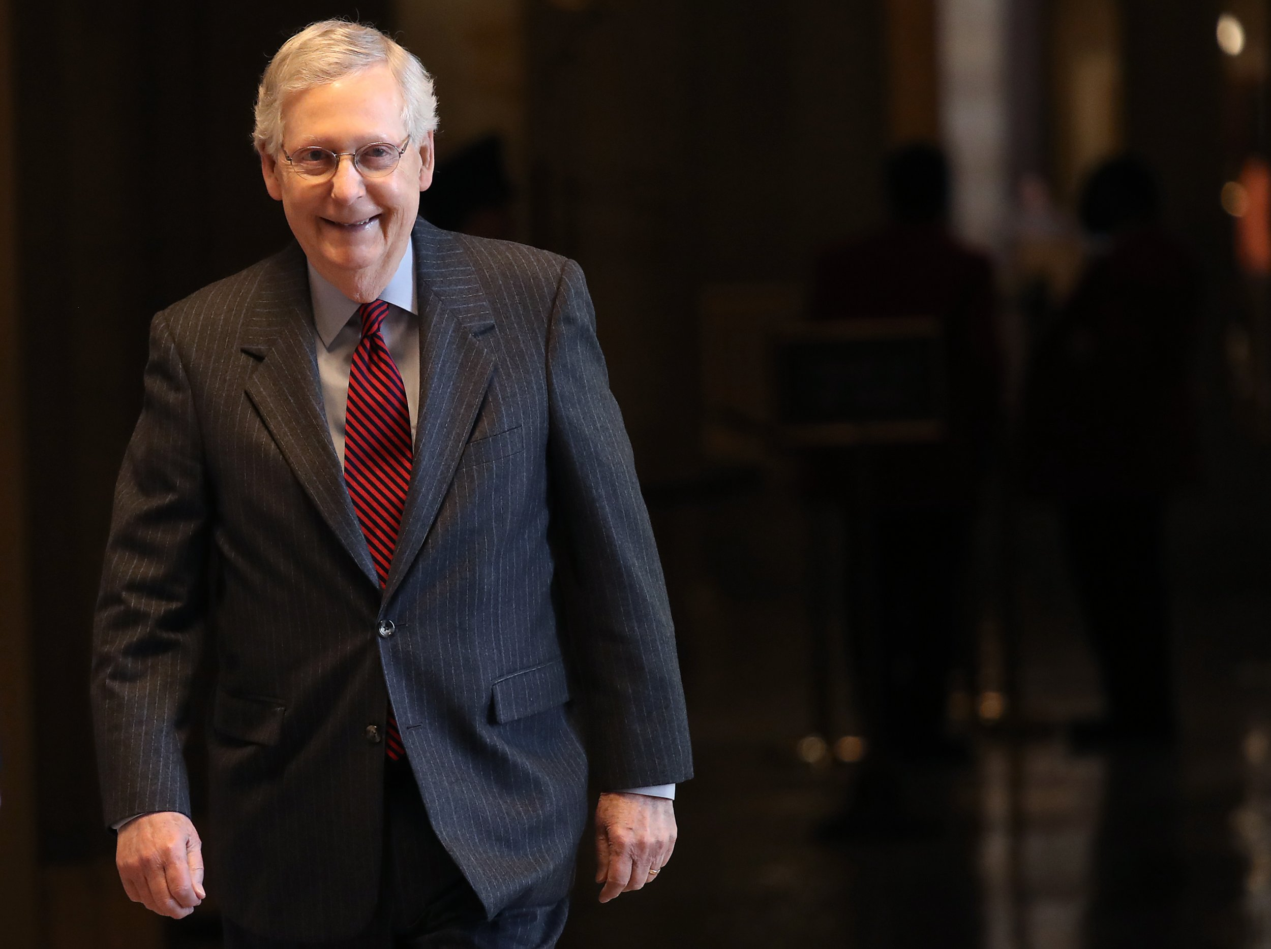 Mitch, McConnell, Green New Deal, Democrats