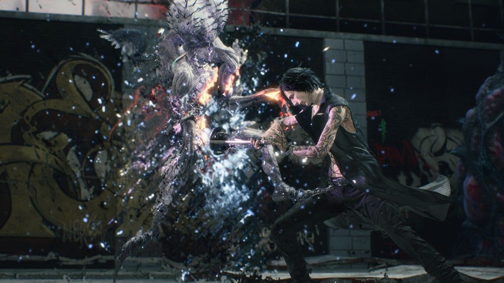 v devil may cry 5 finisher