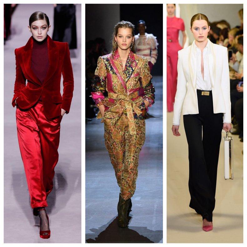 3 NYFW pantsuits