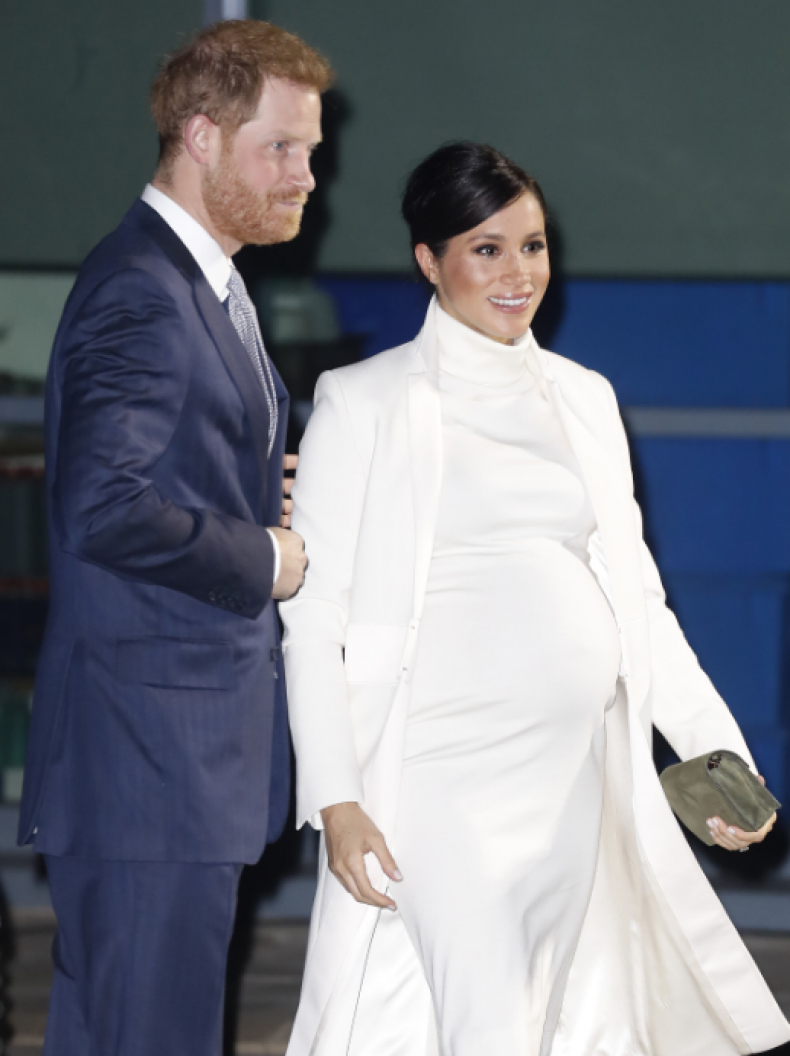 Pregnant Meghan Markle Shows Off Growing Baby Bump at Natural History Museum Gala