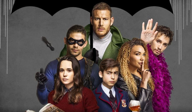 the umbrella academy netflix release date time poster