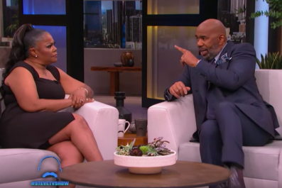 Steve Harvey and Mo'Nique's heated debate