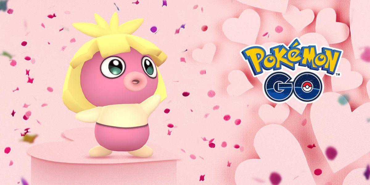 pokemon go valentines day event 2019 smoochum