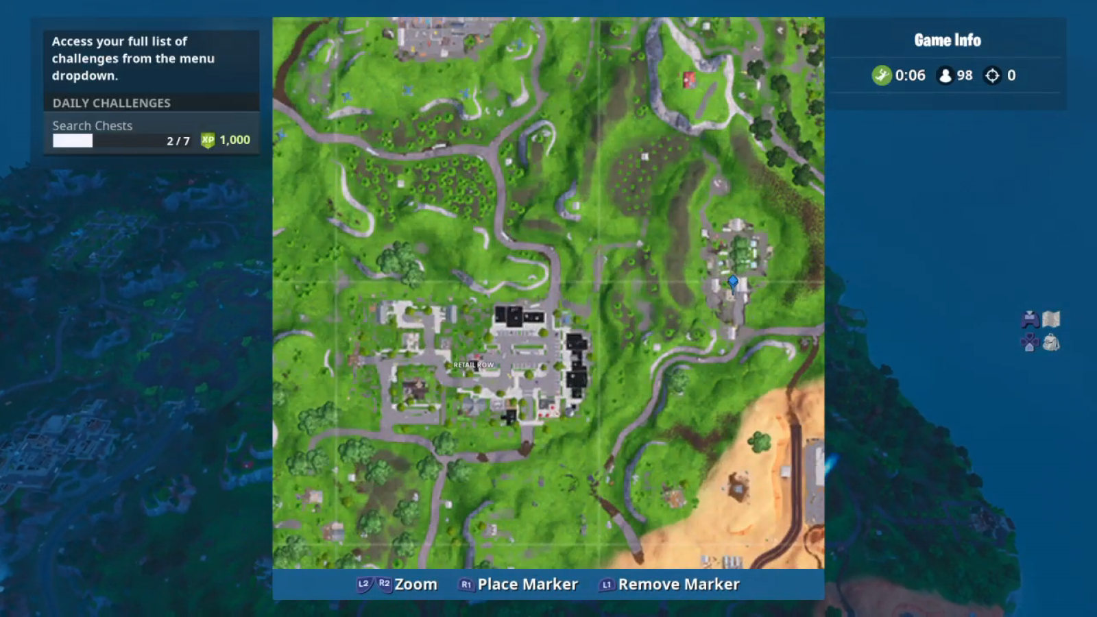 Fortnite Motel Rv Park Challenge Coin Location Overtime