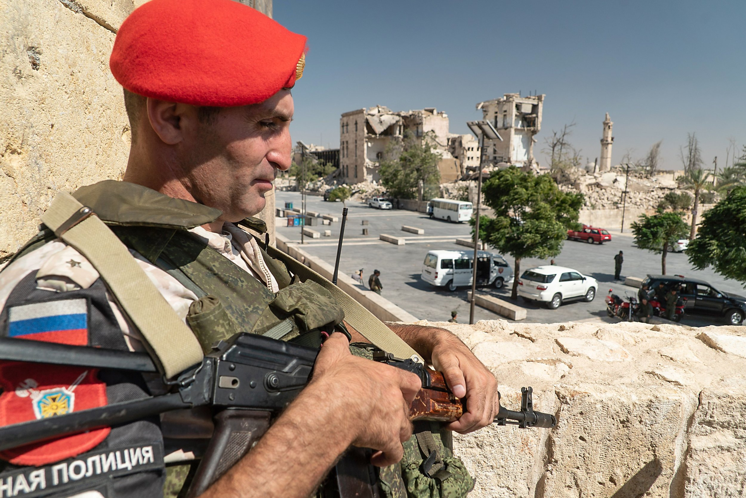 Russian soldier Syria social media
