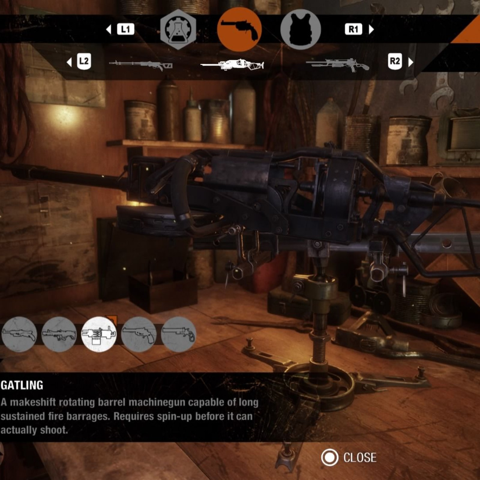 Metro Exodus' Weapons List and Customization Guide: Using