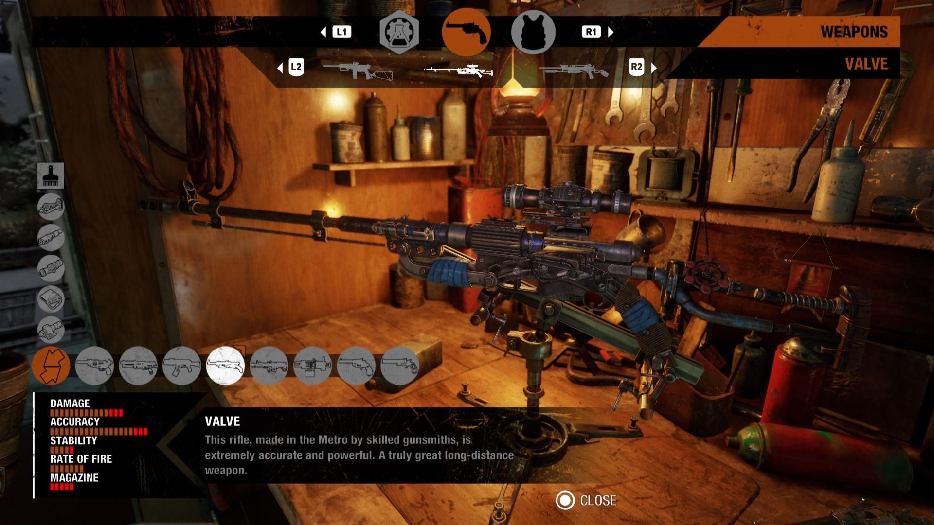 metro-exodus-weapons-list-valve-customization-guide
