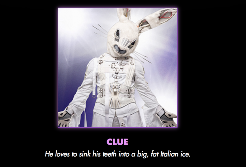 Masked, singer, rabbit, joey, fatone, tattoos, how, many, jc, nsync, boy, band, fat, italian, ice, male, singer, 17, tattoos, clues, spoilers puppet, master