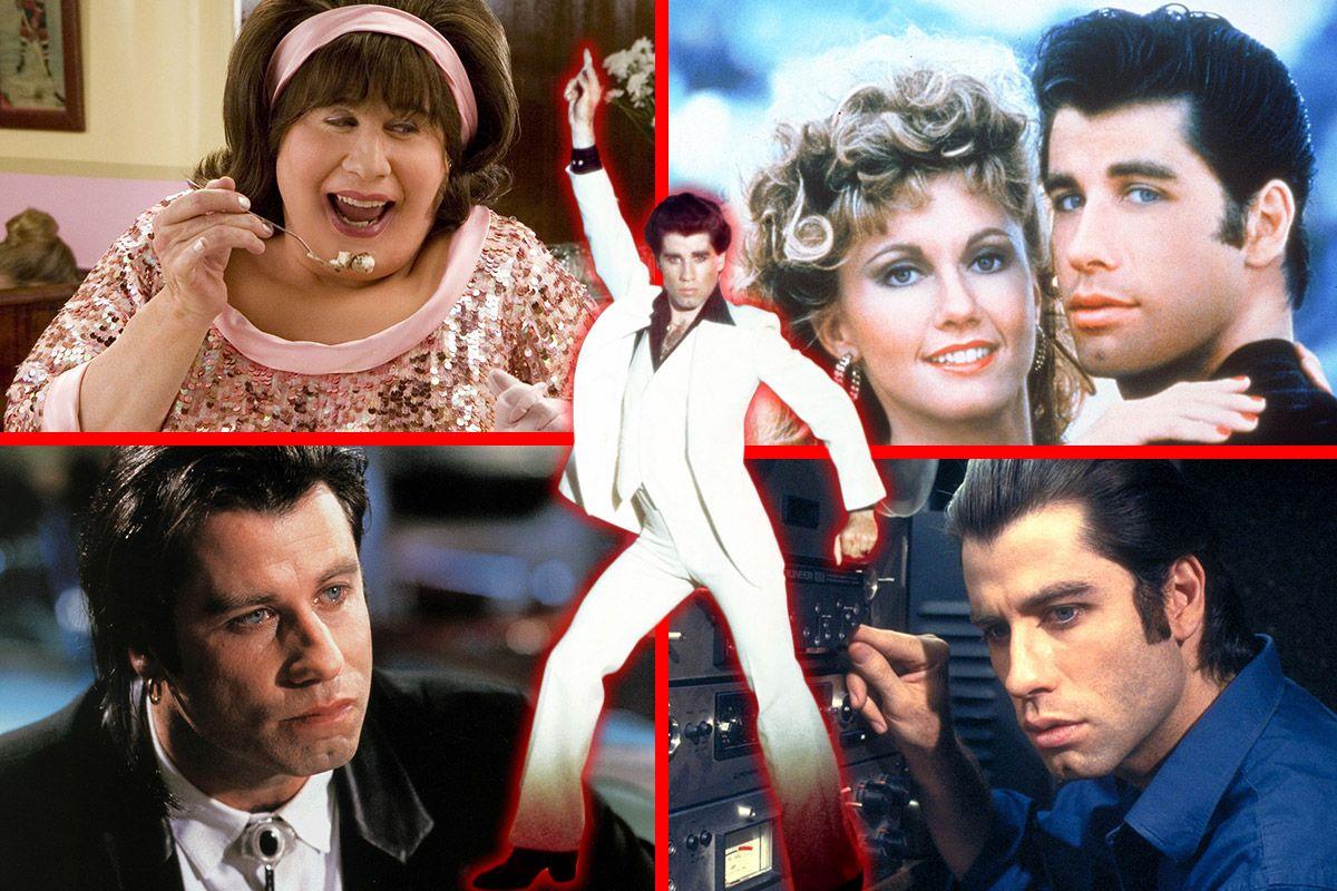 John Travolta's 65th Birthday: His 15 Best Movies Ranked