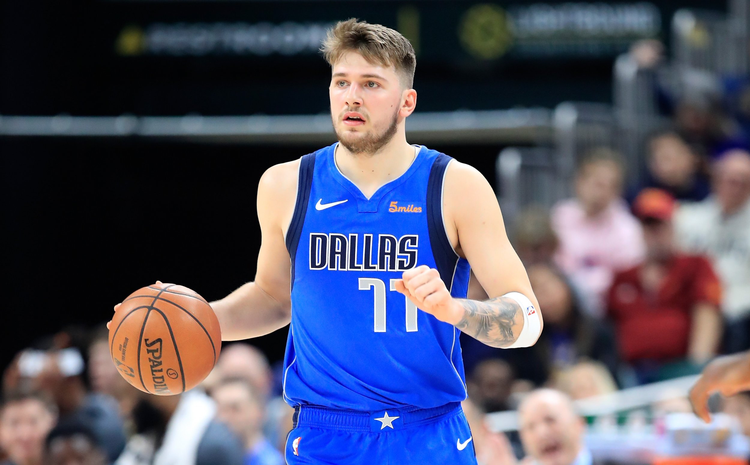 low priced 79075 e5672 Charles Barkley Calls Luka Doncic a 'Bad White Boy', Says ...