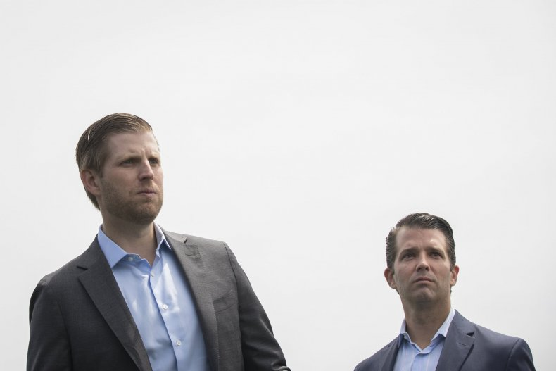 eric trump donald trump presidency company sacrifices trump organization
