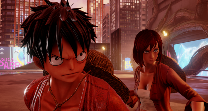 jump force luffy and avatar