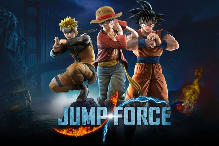 Remaining 'Jump Force' DLC Confirmed in 'V-Jump' Magazine