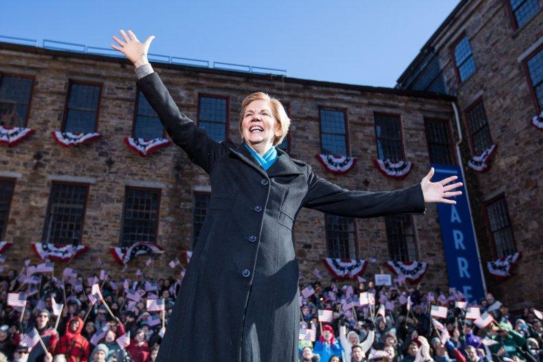 Elizabeth, Warren, Trump, Mar-a-Lago, cronies, Veterans Affairs