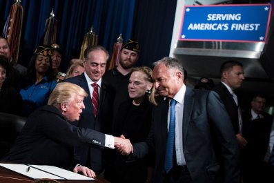 Donald, Trump, Perlmutter, Veterans Affairs