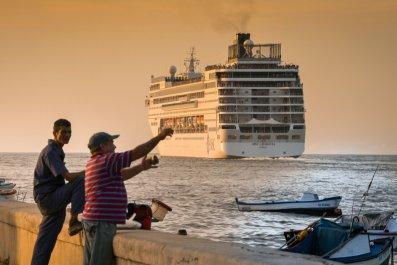 Cuba cruise ship American