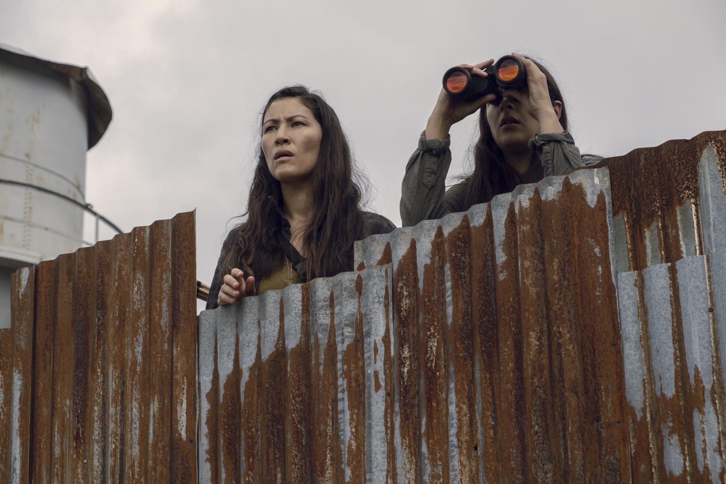 Walking Dead Tara and Yumiko 9x10