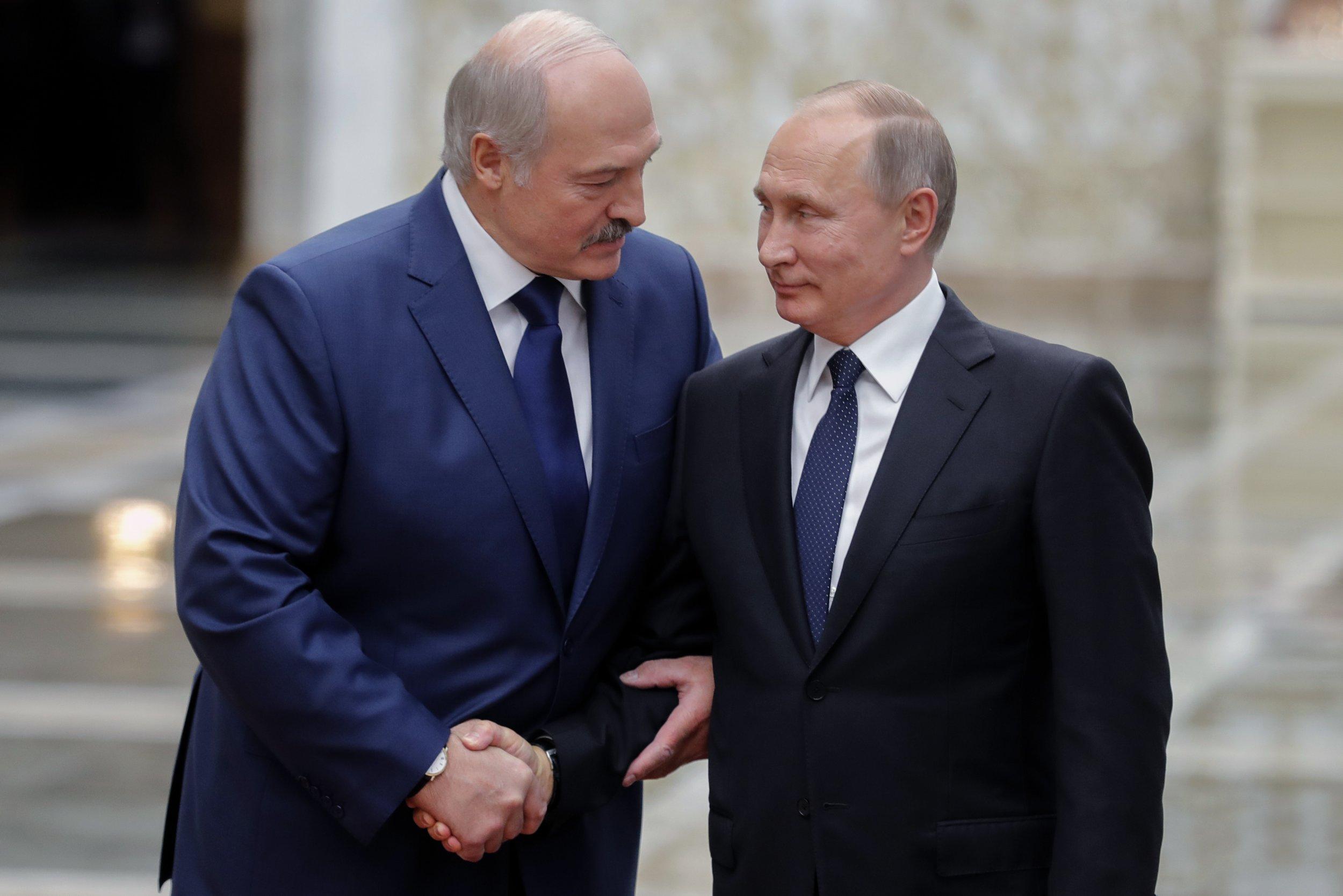 Belarus Russia unite Alexander Lukashenko Vladimir Putin