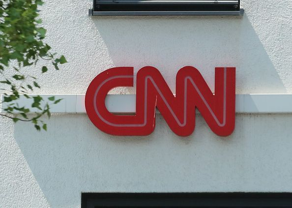 CNN logo in Munich