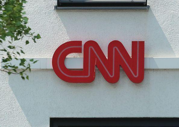 CNN logo in Munich