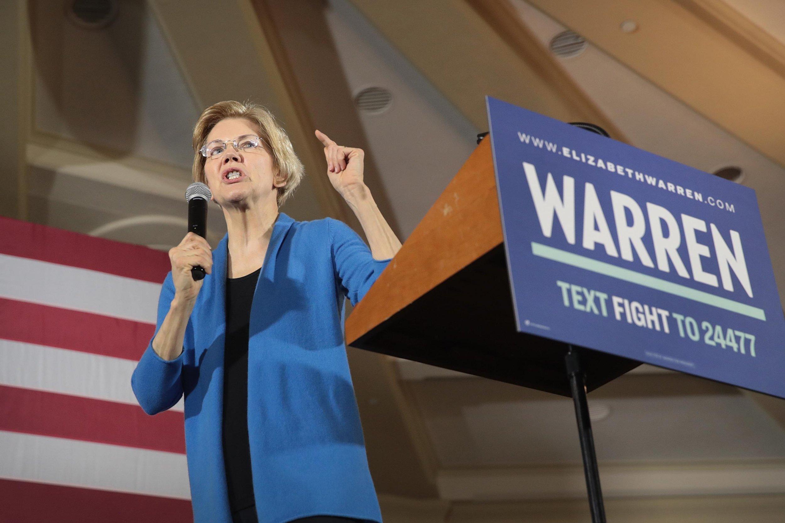 Elizabeth Warren Native American Ancestry